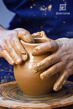 Objetos de cerâmica - criação