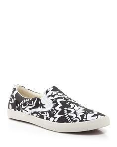 BucketFeet Flat Slip On Sneakers - Apsara