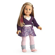 American Girl Of The Year Isabelle Isabelle's Scrunch Pants NIB New In Box