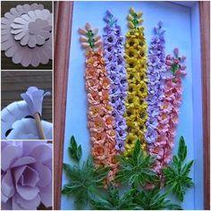 DIY Quilling Paper Flower Wall Art   UsefulDIY.com Follow Us on Facebook ==> http://www.facebook.com/UsefulDiy