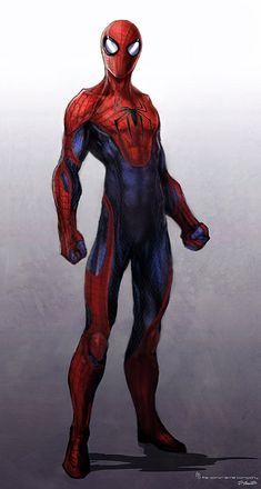 Amazing Spiderman design by JSMarantz on deviantART