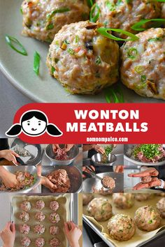 These flavor-packed Paleo and Wonton Meatballs remind me of my mom's wontons, and my family loves them, too—including even my pickiest son! (ground pork, shrimp) --MUST MAKE-- Nom Nom Paleo, Paleo Whole 30, Whole 30 Recipes, Paleo Recipes, Asian Recipes, Paleo Meals, Paleo Mom, Diabetic Meals, Paleo Life