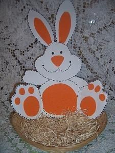 easter bunny basket craft (1)
