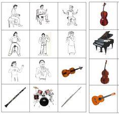 Výsledek obrázku pro hudební nástroje list