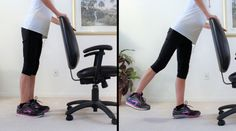 8 Exercises To Relieve Pain In Achy Knees - Fitness With Cindy Knee Arthritis Exercises, Knee Strengthening Exercises, Stretches, How To Strengthen Knees, Senior Fitness, Fitness Tips, Health Fitness, Knee Pain Relief, Yoga Poses For Beginners