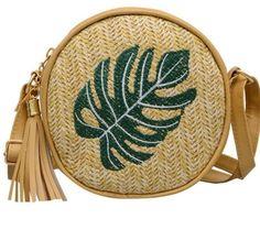 Bags women summer rattan bag handmade woven beach crossbody 👜🌞myalleshop Rattan, Wicker, Round Straw Bag, Straw Handbags, Types Of Bag, Bago, Fashion Handbags, Criss Cross, Saddle Bags