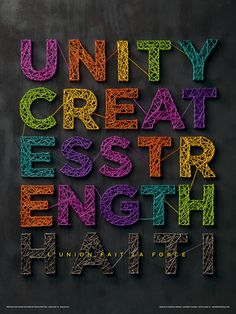 Unity Creates Strength