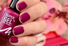 "Manhattan Super Gel Nail Polish Swatches ""Berry Love""  #nailpolish #supergelpower #manhattancosmetics #supergel #2stepsystem #beautyblogger #bblogger #thebeautyofoz #newin #newcollection #beautyblogger_de #iloveit"