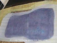Jeanette Sendler Felt Bag Workshop - YouTube