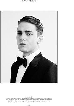athinglikethat: Fantastic Man A/W 2014XAVIERPh: Benjamin Alexander Huseby Celeb: Xavier Dolan