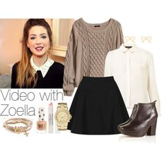 """Video with Zoella"" by wkus on Polyvore"