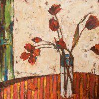 Sally Ann Fitter. Tulips.