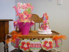 1st birthday luau | Luau- 1st Birthday Sweet Celebration Package - Hawaiian Luau Party
