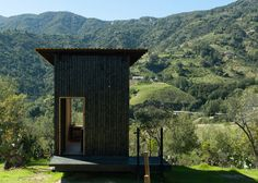 The Charred Cabin Encapsulates the Bare Minimum for Living #cabins trendhunter.com