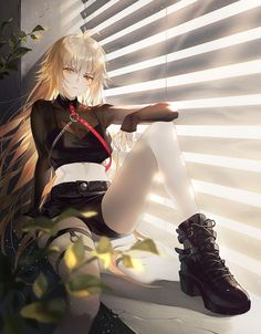 Joan Alter - Joan of Arc (Fate/Apocrypha) - Image - Zerochan Anime Image Board Fate Zero, Art Plastic, Fate/stay Night, Jeanne Alter, Slayer Anime, Joan Of Arc, Anime Art Girl, Anime Girls, Alters