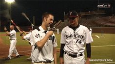 10 GIFs Of Post-Game Interview Goofs from Cool Stuff Dot Biz