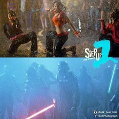 Step Up The Force #stepup #starwars #theforceawakens #force #dance #rain #kiloren #jjabrams #disney #lucasfilm #crew #battle #funnypictures #picoftheday #photomanipulation #art #bobphotography