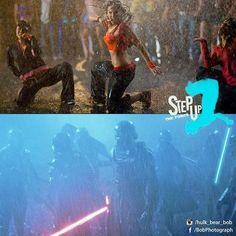Step Up The Force #stepup #starwars #theforceawakens #force #dance #rain #kiloren #jjabrams #disney #lucasfilm #crew #battle #funnypictures #picoftheday #photomanipulation #art #bobphotography