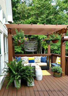 Savvy Southern Style The Summer Deck 2017 Clearance Outdoor Furniture Backyard Patio Pergola