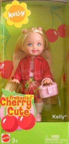Kelly Doll Fruitastic Cherry Cute by mattel. $16.98