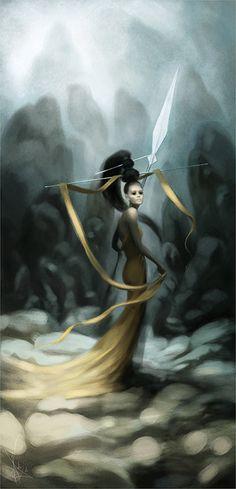 Spear by melaniedelon.deviantart.com on @deviantART
