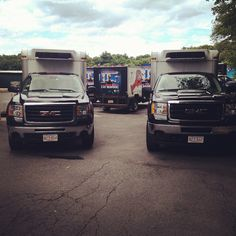 trucks at our wholesale division by captainmardens, via Flickr