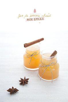 100 % Végétal: { Vivement Noël } Jus de pomme chaud aux épices troptrop bon ! http://www.100-vegetal.com/2012/12/vivement-noel-3-jus-de-pomme-chaud-aux.html