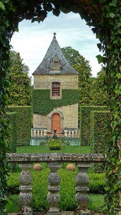 ♥ Jardins du manoir d'Eyrignac, France