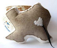 Tennessee wedding ring bearer pillow