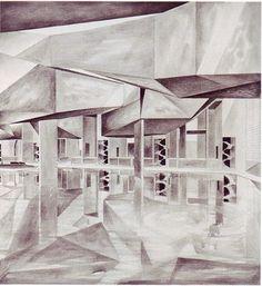 Palazzo del cinama. Venecia, Italia. Steven holl. 1990