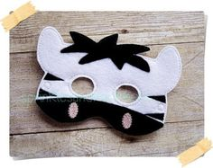 Máscara de gato grande conjunto máscara por TheMaskedMenagerie