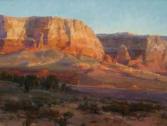 Vermillion Morning by Kathryn Stats - Greenhouse Gallery of Fine Art