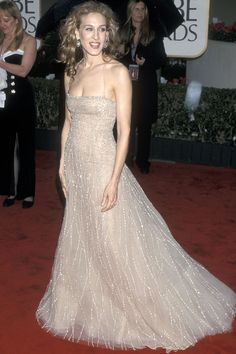 One of the most memorable Golden Globes red carpet looks of all time