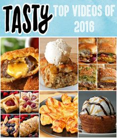 Top Tasty Videos of 2016 | If You're Bored Countdown The Top 10 Tasty Videos Of 2016 With Us