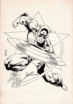 'COSMIC' Fanzine #8 Cover (1982) Comic Art For Sale By Artist Mike Zeck at Romitaman.com