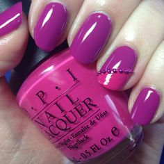 Opi Nail Designs | OPI Ate Berries In The Canaries