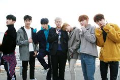 """[STARCAST] MONSTA X 5th Mini Album 'The Code' Behind the Scene Jacket Cut Source: Naver """