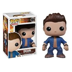 Hunt down demons and bad spirits with Sam Winchester, Dean Winchester, and Crowley of Supernatural in their collectible Pop! Dean Winchester Supernatural, Castiel, Funko Pop Supernatural, Supernatural Merchandise, Supernatural Pop Figures, Supernatural Charlie, Supernatural Jewelry, Supernatural Fandom, Pop Vinyl Figures