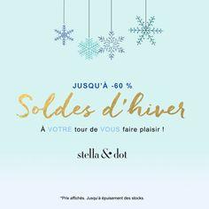 Les soldes d'hiver ont commencé ! | Stella & Dot FR
