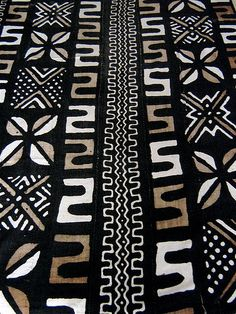 african mud cloth, via Flickr.