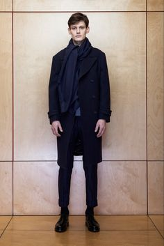 Officine Generale Fall 2015 Menswear Fashion Show Collection