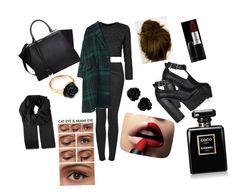 Başlıksız #18 by cansu-celebi on Polyvore featuring polyvore, fashion, style, Topshop, Fendi, LeiVanKash, Gucci, L'Oréal Paris, MAC Cosmetics and Chanel