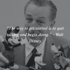 The way to get started is to quit talking and begin doing. - Walt Disney  #entrepreneur #entrepreneurs #entrepreneurlifestyle #entrepreneurship