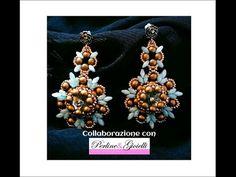 Orecchini Cleopatra (DIY - Cleopatra Earrings) - YouTube