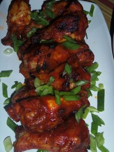 Tangy Tapatio Barbeque Drummettes - Hispanic Kitchen