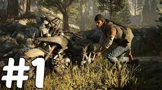 Days Gone Gameplay Demo 2016