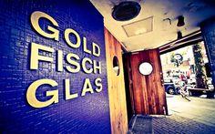 Das GoldFischGlas in der Hamburger Schanze. Coole Drinks, Minidisco, hippe Szene!