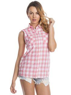 Dámský košilový top COLLEZIONE - růžová