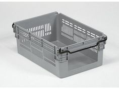 45 Litre Open Fronted Stacking - Nesting Order Picking Ventilated Plastic Crate