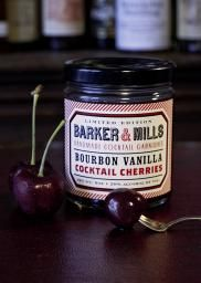 Barker & Mills Bourbon Vanilla Cocktail Cherries, 9 oz. jar - thebostonshaker.com - Bet these cherries would be delish in an old fashioned...